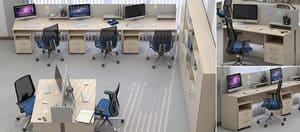 Мебель для персонала Сенс, комплект 7 фото 5