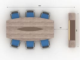 Комплект кабинета руководителя Флэш-4 фото 2