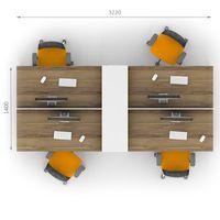 Комплект офисной мебели Джет-14 фото 2