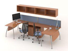 Комплект офисной мебели Техно-11 фото