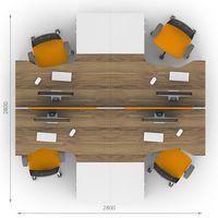 Комплект офисной мебели Джет-8 фото 2