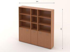 Комплект офисной мебели Техно-15 фото