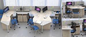 Мебель для персонала Сенс, комплект 4 фото 4