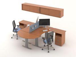 Комплект офисной мебели Техно-8 фото 1
