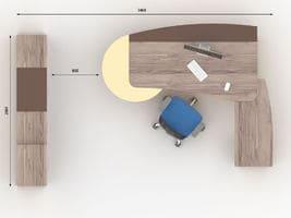 Комплект кабинета руководителя Флэш-2 фото 3