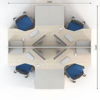 Мебель для персонала Сенс, комплект 5 фото 2