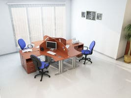 Комплект офисной мебели Техно-3 фото 3