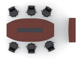 Конференц стол, комплект Эйдос 4 фото 3