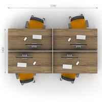 Комплект офисной мебели Джет-15 фото 2