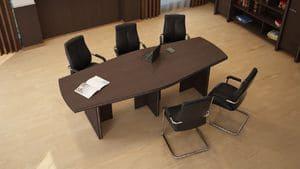 Конференц стол Идеал, комплект 4 фото 3