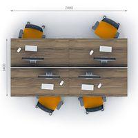 Комплект офисной мебели Джет-11 фото 2