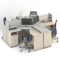 Мебель для персонала Сенс, комплект 7 фото 1