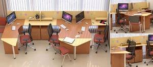 Мебель для персонала Сенс, комплект 4 фото 5