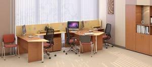 Мебель для персонала Сенс, комплект 1 фото 6
