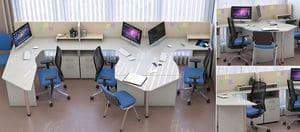 Мебель для персонала Сенс, комплект 4 фото 6