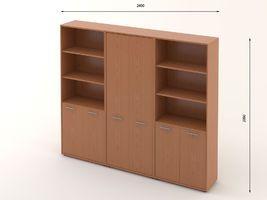 Комплект офисной мебели Техно-17