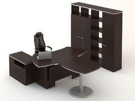 Комплект кабинета Ньюмен 4 фото
