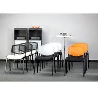 Офисный стул Исо net хром фото 7