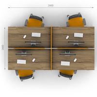 Комплект офисной мебели Джет-16 фото 2