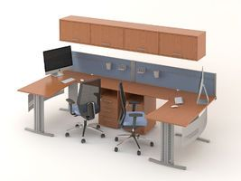 Комплект офисной мебели Техно-12 фото