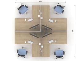 Комплект офисной мебели Озон 4 фото 2