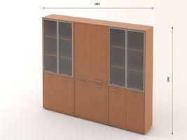 Комплект офисной мебели Техно-18 фото