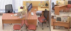 Мебель для персонала Сенс, комплект 6 фото 4