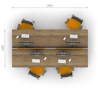 Комплект офисной мебели Джет-12 фото 2