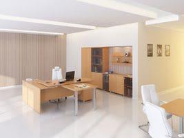Офисный стол для руководителя K1.00.20 фото 6