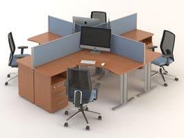Комплект офисной мебели Техно-4 фото 1