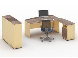 Комплект кабинета руководителя Флэш-1 фото 2