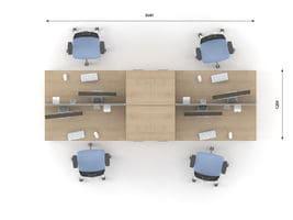 Комплект офисной мебели Озон 8 фото 2