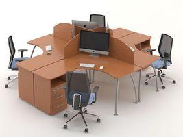 Комплект офисной мебели Техно-3 фото 1