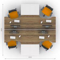 Комплект офисной мебели Джет-7 фото 2