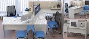 Мебель для персонала Сенс, комплект 6 фото 5