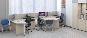 Мебель для персонала Сенс, комплект 4 фото 3
