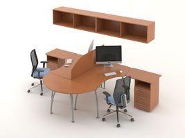 Комплект офисной мебели Техно-7 фото 1