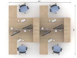 Комплект офисной мебели Озон 7 фото 2