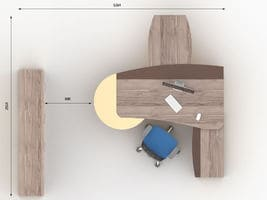 Комплект кабинета руководителя Флэш-3 фото 3