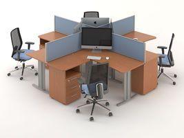 Комплект офисной мебели Техно-10 фото 1