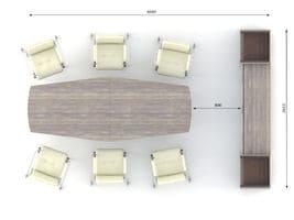 Конференц стол Идеал, комплект 4 фото 2