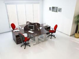 Комплект офисной мебели Техно-6 фото 4