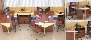Мебель для персонала Сенс, комплект 4 фото 7