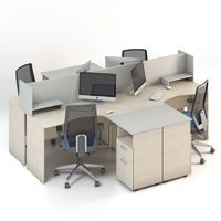 Мебель для персонала Сенс, комплект 5 фото