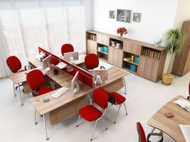 Офисный стол T1.12.16 фото 5