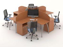 Комплект офисной мебели Техно-9 фото