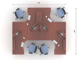 Комплект мебели Артибут-6 фото 2