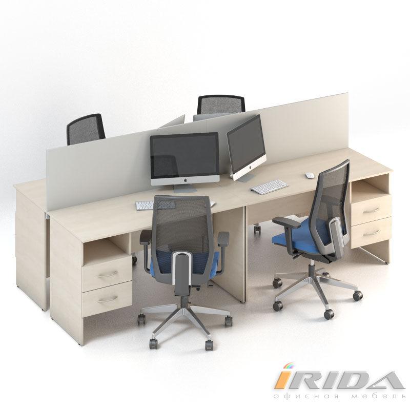 Мебель для персонала Сенс, комплект 8 фото