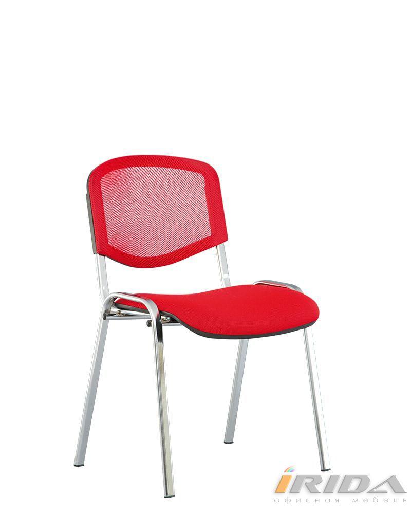 Офисный стул Исо net хром фото