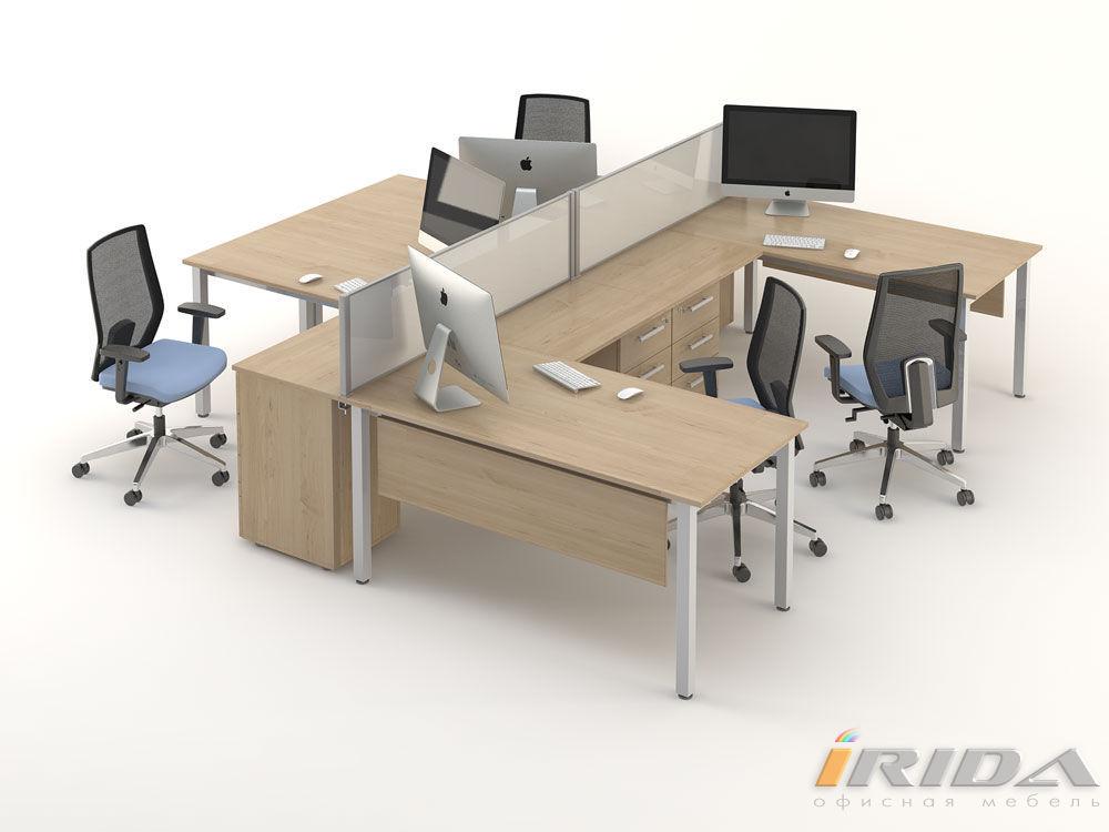 Комплект офисной мебели Озон 6 фото